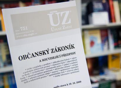 11 новых пунктов Гражданского кодекса Чешской Республики